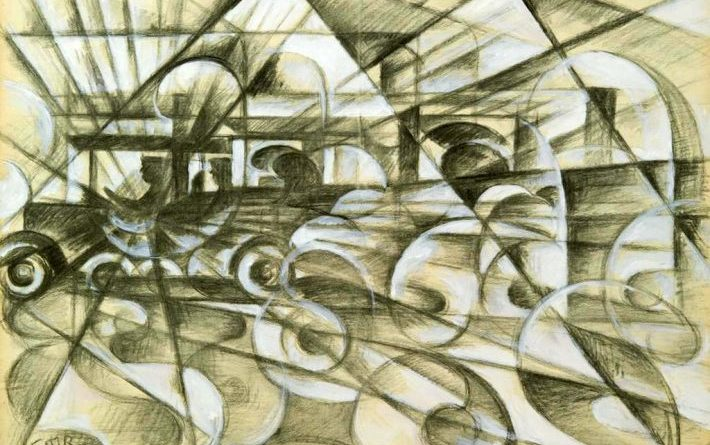 La mostra di Giacomo Balla a Villa Borghese