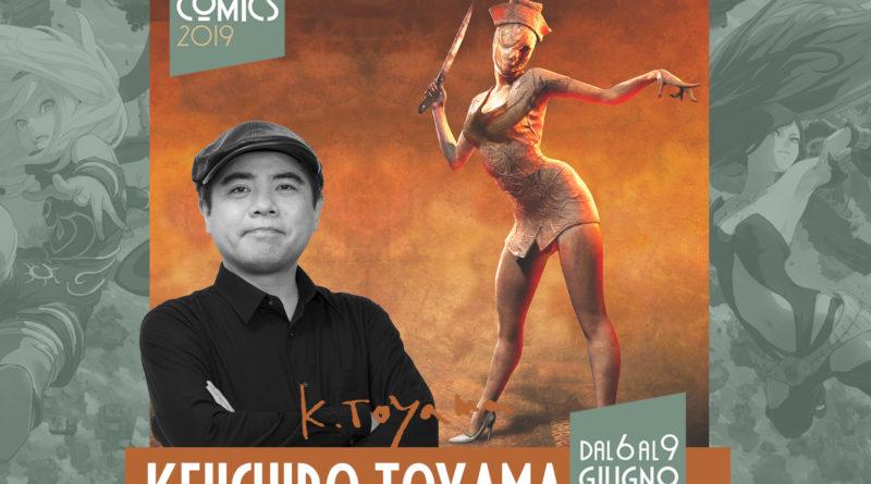Per la prima volta in Italia, in esclusiva per Etna Comics 2019, il genio del grande Keiichiro Toyama
