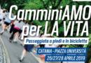 """TORNA LA WALK OF LIFE- CAMMINIAMO PER LA VITA TELETHON 2019"""
