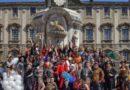La protesta degli allievi dell'Accademia di Belle Arti di Catania contro l'omofobia e ogni forma di razzismo
