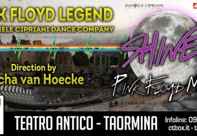 SHINEPINK FLOYD MOON Viaggio nel mondo della luna con Micha van Hoecke e i Pink Floyd Legend