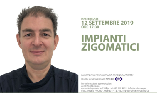 """Alessandro Viscioni, specialista di fama nazionale parlerà di """"Impianti zigomatici"""""""
