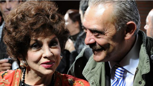 Gina Lollobrigida a Castel Romano: guest star della mostra di Rino Barillari
