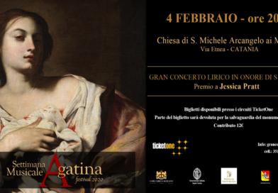 JESSICA PRATT A CATANIA PER LA SETTIMANA MUSICALE AGATINA