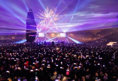 Roma: 140mila persone alla Festa di Roma del Capodanno 2020 al Circo Massimo