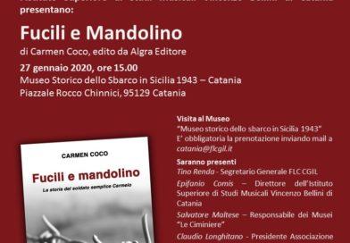 """Giornata della Memoria, presentazione libro """"Fucili e mandolino"""""""